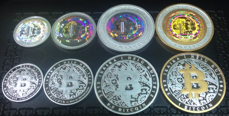 Name BUYER FUNDED 4 COIN Silver Bitcoin Set Description THIS PRODUCT IS SOLD UNFUNDED PRICE DOES NOT INCLUDE FUNDING AMOUNT 1 Oz Gold Plated BTC